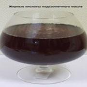 Жирные кислоты подсолнечного масла. фото