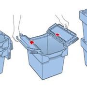 Многоцелевой пластиковый контейнер с крышкой фото