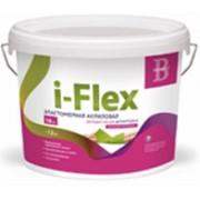 Эластичная штукатурка для фасадов i-Flex (ай-Флекс) - 6 кг, цвет белый. Возможна колеровка. фото