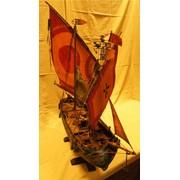 Модель итальянской рыбацкой лодки фото