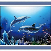 """Набор для рисования камнями """"Любовь в океане"""" 170005 фото"""
