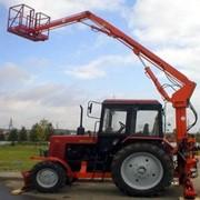 Подъемник монтажный на базе тракторов МТЗ