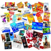 Дизайн рекламной полиграфии фото