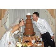 Установка шоколадных фонтанов фото