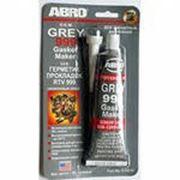 Герметик-прокладка Abro серый фото