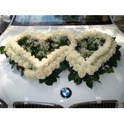 Оформление свадебных автомобилей фото