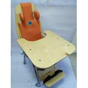 Опора для сидения, Ортопедический стул с полным набором упоров для позиционирования детей с ДЦП в правильном положении сидя фото