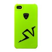 Крышка Lamborghini Murcielago для iPhone 4 зелёная фото