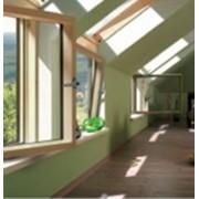Окна MACO. Окна вертикальные распашные. Окна, двери, перегородки. фото
