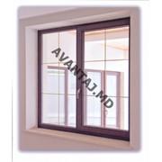 Окно из красного дерева, арт. 3 фото