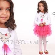 Нарядный джемпер детский для девочки и нарядная пышная юбка для девочки фото