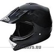 Детский защитный кроссовый шлем Yema 210 kids XS ( 47-48 см ) чёрный фото