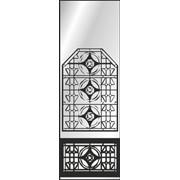 Обработка пескоструйная на 1 стекло артикул 4-12 фото
