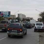 Аренда билбордов в Актау 7 мкр., напротив Евразийского банка фото