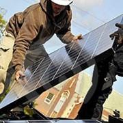 Солнечные батареи, солнечные фотоэлектрические системы под ключ. фото