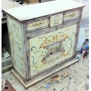 Роспись мебели. фото