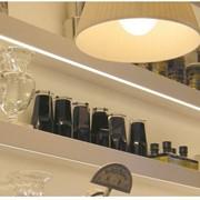 LED освещение для кухни фото