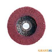 Круг зачистной 100мм образивное волокно красный фото