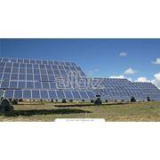 Установка солнечных панелей фото