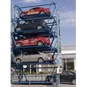 Парковочная система на 8 парковочных мест Тип: МВП -8 фото