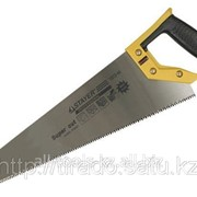 Ножовка Stayer SUPER CUT по дереву, 2-комп. пластиковая ручка, 3D-заточка, закаленный Код: 1512-45 фото