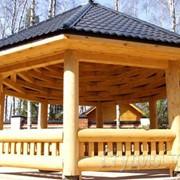 Строительство из дерева фото
