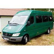 Прокат микроавтобуса Mercedes Sprinter 2004 фото