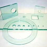 Изготовление отверстий и вырезов в стекле и зеркалах фото