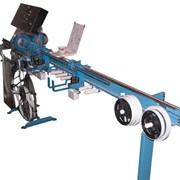 Станок - автомат для изготовления ламелей горизонтальных жалюзей фото