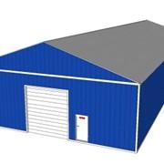 Склады, Строительство быстровозводимых зданий из металлоконструкций, с использованием термопрофилей и ЛСТК. фото