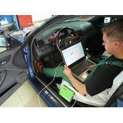 Диагностике автомобиля фото