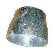 Переход оцинкованный стальной Ду159х133 концентрический приварной фото