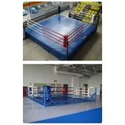 Ринг спортивный разборный на помосте 7,5 х 7,5 м (Возможны иные размеры) фото