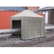 Палатка сварщика 2,5х2,5 ( м ) брезент фото