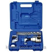 Набор для обработки труб Value VFT 808-IS , планка+вальцовка+труборез , чемодан фото