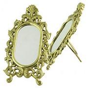 Зеркало настольное 12х23х7см. арт.AL-82-238 ALBERTI LIVIO фото