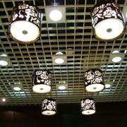 Потолок подвесной Грильято фото