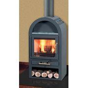 Пристенная стальная печь Capri фирмы Fireplace фото