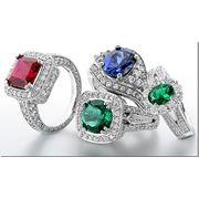 Изделия ювелирные из драгоценных камней фото