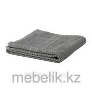 Банное полотенце серый ФРЭЙЕН фото
