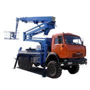 Телескопическая автовышка - Socage TJ-50 фото