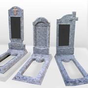 Памятники бетонные под заказ фото
