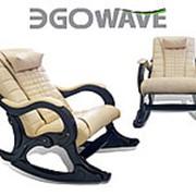 Массажное кресло-качалка EGO WAVE EG-2001 в комплектации LUX карамель фото