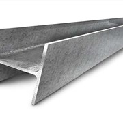 Балка стальная двутавровая З0М Ст5пс ГОСТ 19425-74 горячекатаная фото