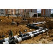 Строительство водопроводных трубопроводов фото
