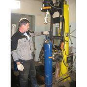 Ремонт баллонов для технических газов фотография