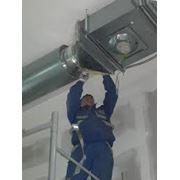Монтаж систем вентиляции фото