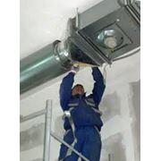 Монтаж вентиляционной системы фото