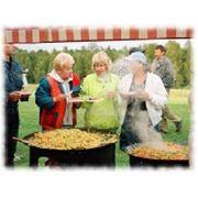 Организация питания туристов фото