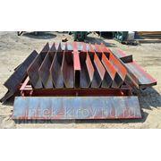 Металлоформа для производства дорожного и тротуарного бордюра фото